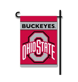 Ohio State Buckeyes 2-Sided Garden Flag