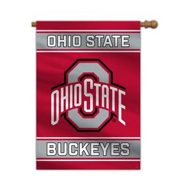 Ohio State Buckeyes 2-Sided House/Porch Flag