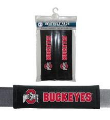 Ohio State Buckeyes Seat Belt Pads