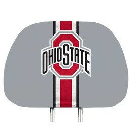 Ohio State Buckeyes Two-Pack Helmet Headrest Cover