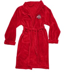 Ohio State Buckeyes Silk Touch Bath Robe