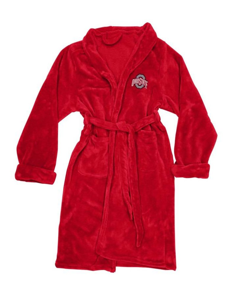 Ohio State Buckeyes Silk Touch Bath Robe