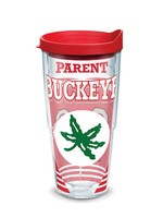 Tervis Ohio State University 24oz Parent of a Buckeye Tervis Tumbler