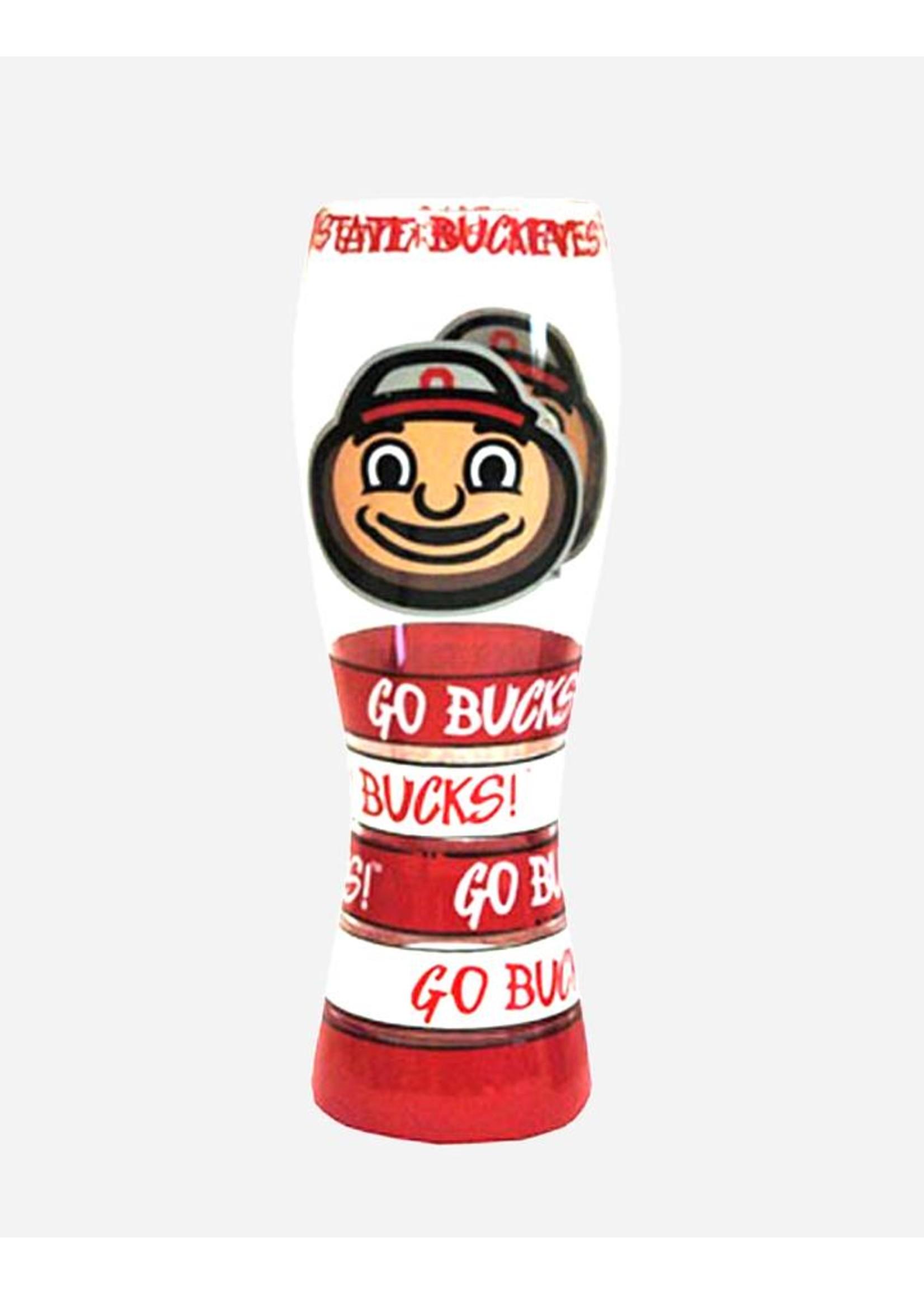 Ohio State Buckeyes 24oz Painted Pilsner