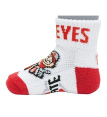 Ohio State University Brutus Baby Socks 12-24M
