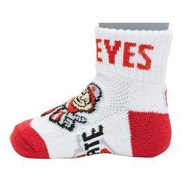 Ohio State University Brutus Baby Socks 12-24M