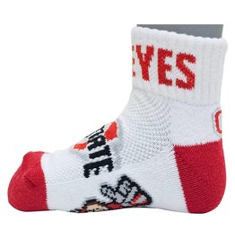 Ohio State Buckeyes Toddler 3-5 Socks