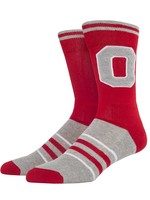 Ohio State Buckeyes Letterman L/XL Socks