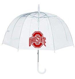Ohio State Buckeyes Clear Bubble Umbrella