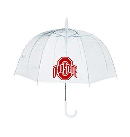 Ohio State Buckeyes Clear Bubble Umbrella