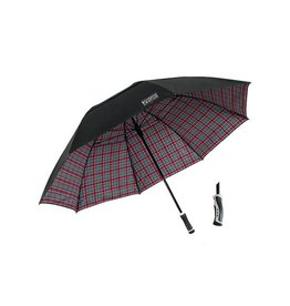 Ohio State University Tartan Double-Canopy Umbrella