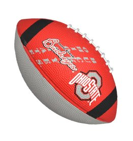 Ohio State Buckeyes Junior-Size Rubber Football