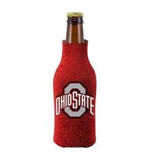 Ohio State Buckeyes Glitter Bottle Koozie