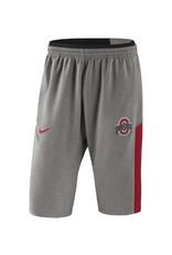 Nike Ohio State Buckeyes Heathered Gray  Fleece Shorts