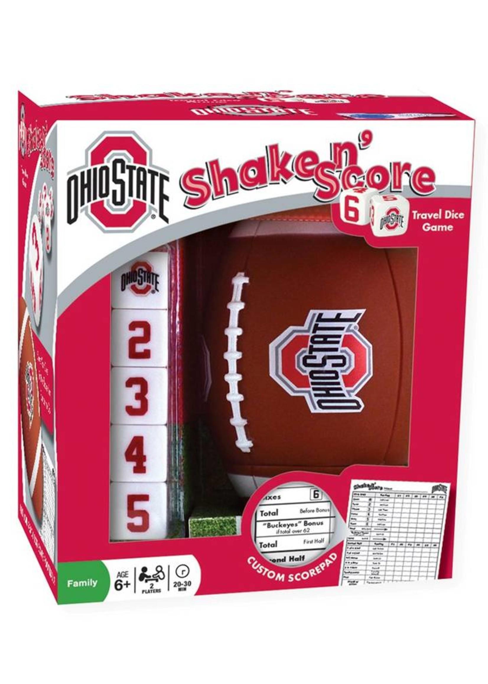 Ohio State University Shake N' Score Travel Size Game