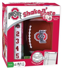 Ohio State University Shake N' Score Travel Size Game