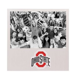 "Ohio State Buckeyes 4"" x 6"" Aluminum Picture Frame"