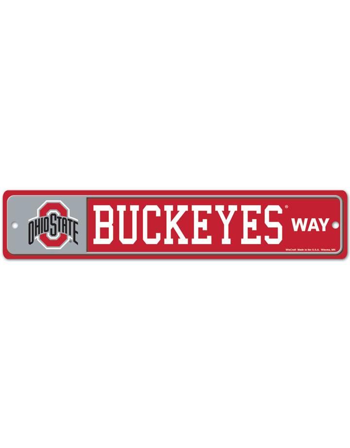 "Wincraft Ohio State Buckeyes  4""x19"" Street Sign"