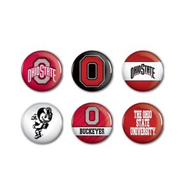 Wincraft Ohio State University Buttons 6-Pack