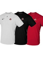 Nike Ohio State Buckeyes Short Sleeve Lockdown Pullover
