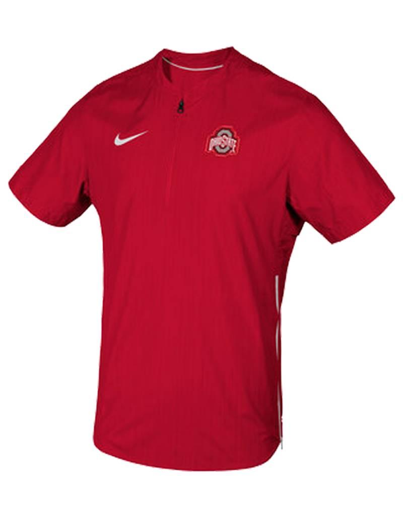 Nike Ohio State Buckeyes Short Sleeve Lockdown Pullover