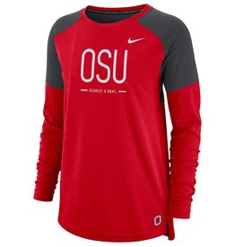 Nike Ohio State Buckeyes Women's Tailgate Long Sleeve