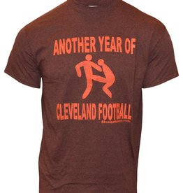 Cleveland Browns Another Year of Cleveland Football Tee