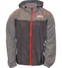 Top of the World Ohio State Buckeyes Heathered Gray Lightweight Jacket