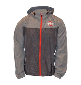 Top of the World Ohio State Buckeyes Heathered Gray Lightweight Jacket