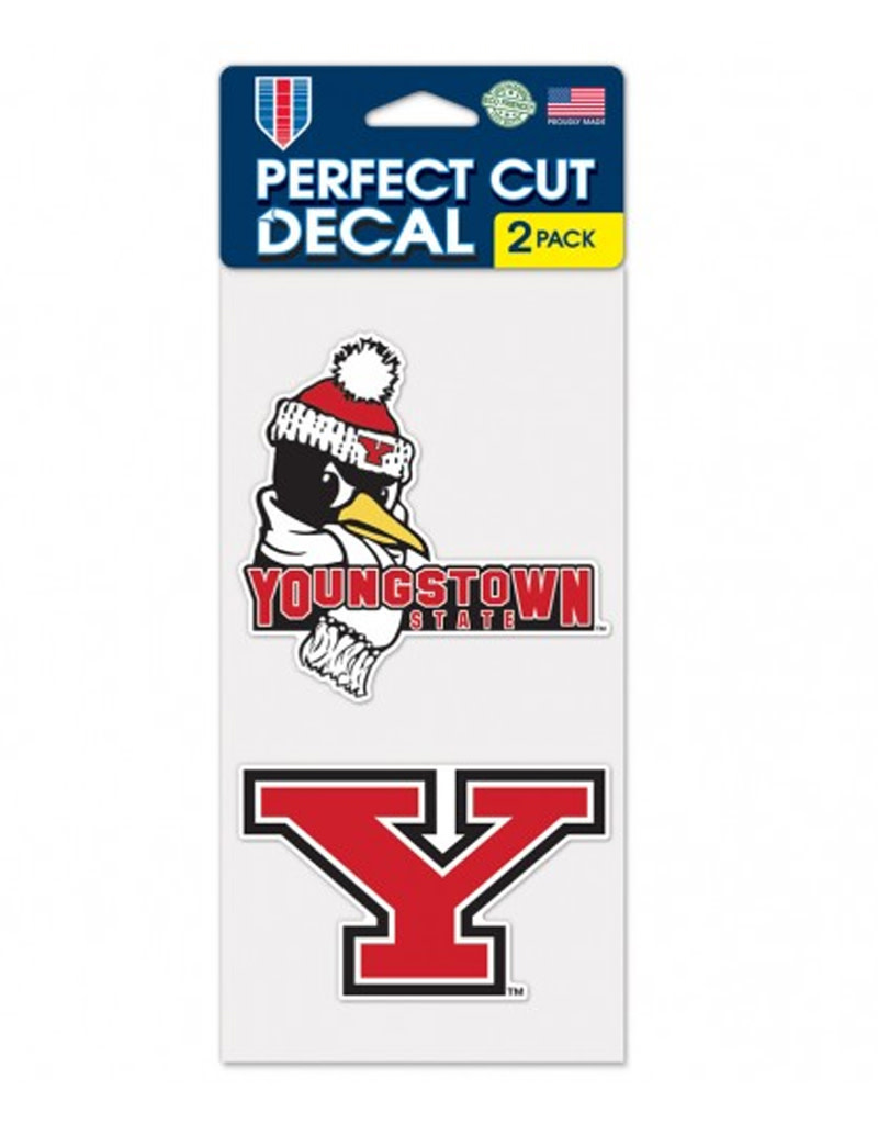 Wincraft Youngstown State 2pk Decals