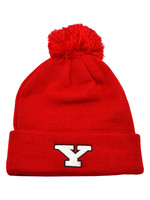 Youngstown State Penguins Red Cuffed Pom Hat