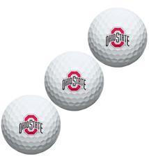 Wincraft Ohio State University 3-Pack Golf Ball Sleeve