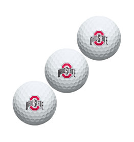 Wincraft Ohio State University 3-Pack Golf Ball Sleeve