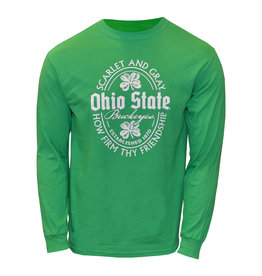 Ohio State St. Patrick's Day  Long Sleeve Shirt