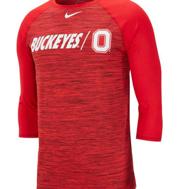 Ohio State University Nike Dri-FIT Legend 3/4-Sleeve Tee