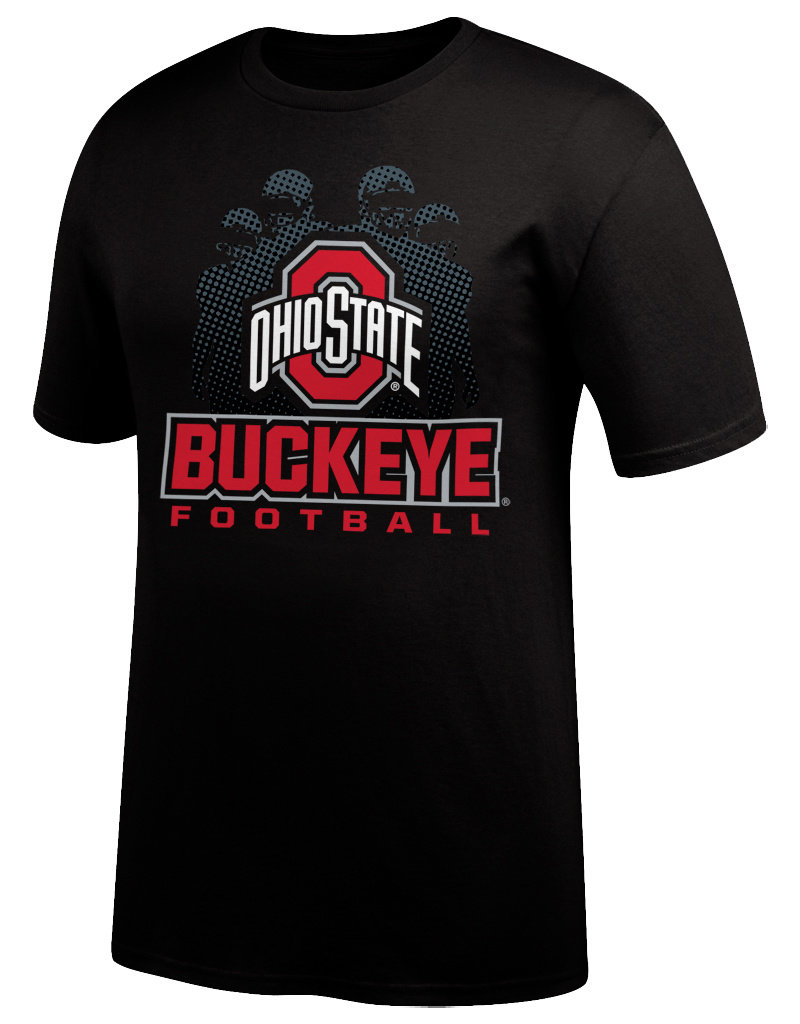 J AMERICA Ohio State Buckeyes 2019 Schedule Tee