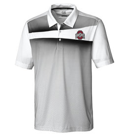 Cutter & Buck Ohio State Buckeyes Ascend Print Polo
