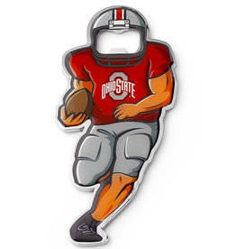 LABYRINITH Ohio State Buckeyes Full Player Bottle Opener Metal Magnet