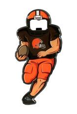 Cleveland Browns Full Player Bottle Opener Metal Magnet