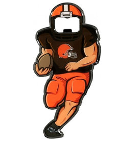 LABYRINITH Cleveland Browns Full Player Bottle Opener Metal Magnet