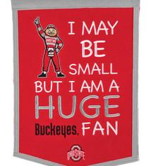 Ohio State Buckeyes Lil Fan Banner