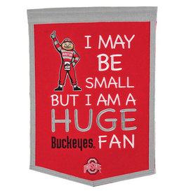 winning streak Ohio State Buckeyes Lil Fan Banner