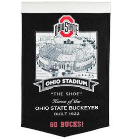 """winning streak Ohio State Buckeyes 15"""" x 24"""" Stadium Banner"""