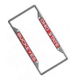 Wincraft Ohio State Buckeyes Glitter License Plate Frame