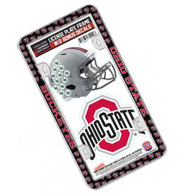 Wincraft Ohio State Buckeyes License Plate Frame with 2 Decals