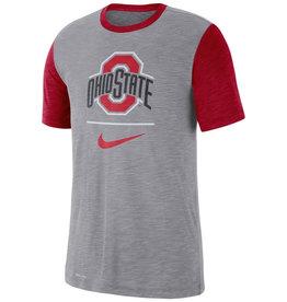 Nike Ohio State Buckeyes Performance Cotton Dri-Fit Blend T-Shirt