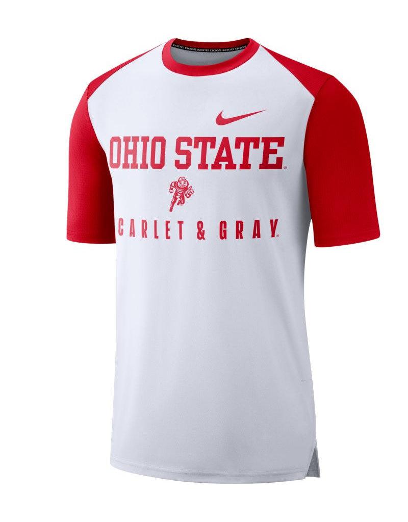 Nike Ohio State Buckeyes Nike College Breathe Shirt