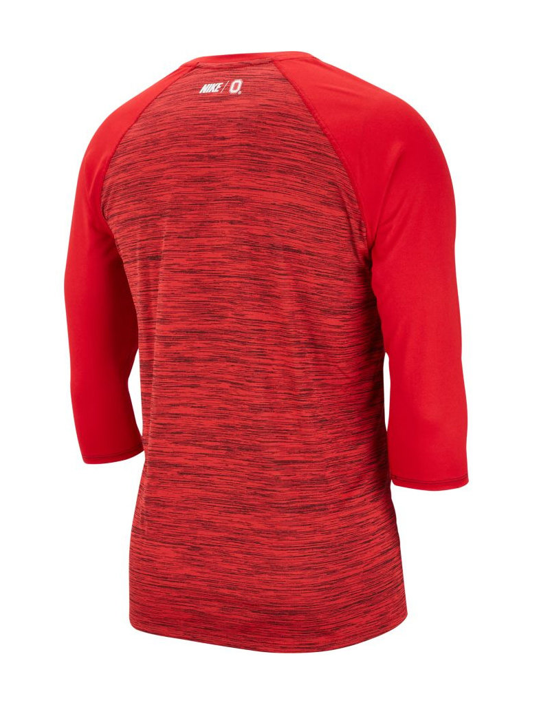 Ohio State Buckeyes College Dri-FIT Legend 3/4-Sleeve Shirt