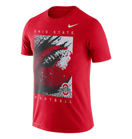 Nike Ohio State Buckeyes Dri-Fit Football Tee