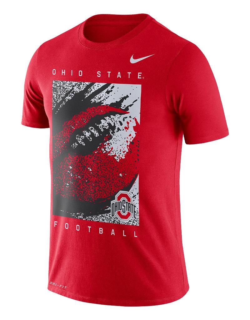 Nike Ohio State Buckeyes Dri-Fit Football Tee